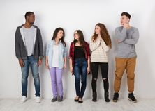 Творческая команда, молодые вскользь бизнесмены Стоковые Фото