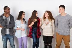 Творческая команда, молодые вскользь бизнесмены Стоковые Изображения RF