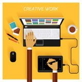 творческая команда Бесплатная Иллюстрация