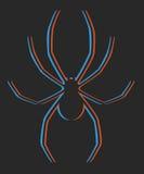 Творческая конструкция спайдера Стоковая Фотография RF