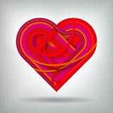 Творческая концепция сердца иллюстрация вектора