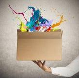 Творческая коробка Стоковое фото RF