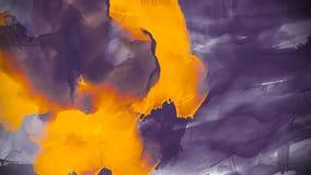 Творческая красочная предпосылка с маслом конспекта покрасила волны Жидкостная краска Дизайн для предпосылок, обоев, крышек и пак иллюстрация вектора