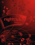 Творческая предпосылка на рекламировать и меню ноча клуба музыки внутри Стоковые Изображения RF