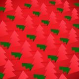 Творческая рождественская елка сформированная от бумаги отрезка вне. иллюстрация вектора