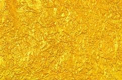 Творческая роскошная текстура сусального золота лист Стоковые Изображения