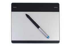 Творческая таблетка ручки Стоковое Изображение RF