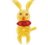 Творческая форма зайцев десерта ребенка плодоовощ Стоковая Фотография RF