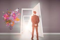 Творческая startup концепция идей Стоковые Изображения RF