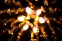 творческие звезды движения взрыва Стоковое Изображение RF