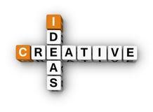 творческие идеи Стоковая Фотография RF