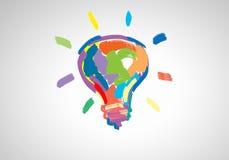 творческие идеи Стоковое фото RF