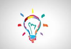 творческие идеи Стоковые Изображения