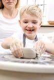 Творческие классы для детей Стоковая Фотография RF