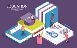Творческие равновеликие шаблоны для образования штата, советуя с, коллеж, приложение образования иллюстрация штока
