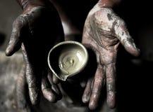 творческие руки стоковая фотография rf