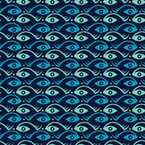 Творческие рыбы и глаз Стоковые Фото