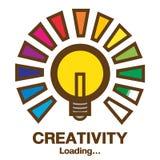 Творческие способности загрузки Иллюстрация штока
