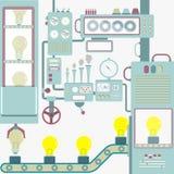 Творческие способности индустрии иллюстрация штока