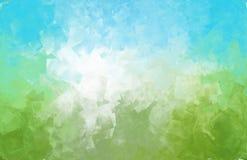 Творческий абстрактный график предпосылки концепции небес природы Стоковое Изображение