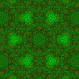 Творческий всеобщий цветочный узор в multi цвете Стоковое Изображение RF