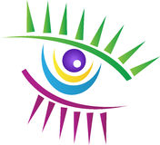 Творческий глаз Стоковое фото RF