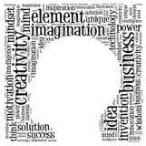 Творческий думать Стоковая Фотография RF