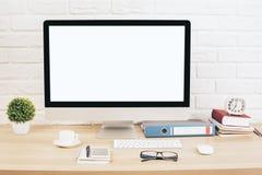 Творческий дизайнерский фронт стола Стоковые Изображения
