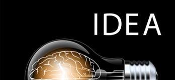 Творческий конспект идеи электрической лампочки, план потока операций шаблона современного дизайна концепции воодушевленности, ди Стоковое Изображение RF