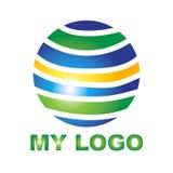 Творческий логотип для вашей компании Стоковое Изображение RF