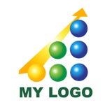 Творческий логотип для вашей компании Стоковые Изображения