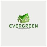 Творческий домашний шаблон логотипа вектора Стоковое Фото