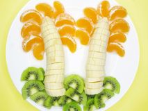 творческий плодоовощ десерта Стоковые Фотографии RF
