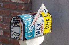 творческий почтовый ящик Стоковые Фотографии RF