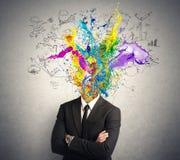 Творческий разум Стоковые Фотографии RF