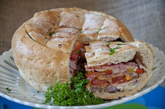Творческий сандвич Стоковые Фото