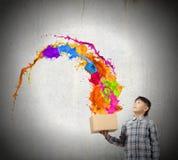 творческий думать Стоковое фото RF