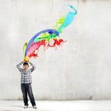 творческий думать Стоковое Изображение RF