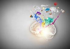 творческий думать Стоковые Фото
