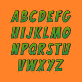Творческий шрифт Стоковая Фотография RF