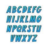 Творческий шрифт Стоковые Изображения RF