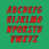 Творческий шрифт Стоковое Фото