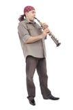 творческий flautist Стоковые Изображения RF