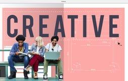 Творческое развитие Insipire Concep нововведения идей творческих способностей Стоковая Фотография RF