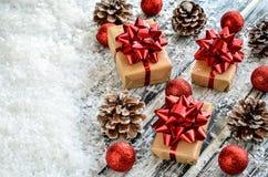 Творческое украшение рождества Стоковые Изображения