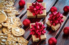 Творческое украшение рождества Стоковое фото RF