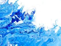Творческой абстрактной предпосылка покрашенная рукой Стоковое Фото