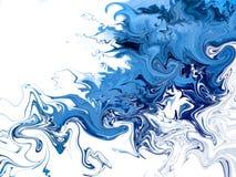 Творческой абстрактной предпосылка покрашенная рукой Стоковое Изображение RF