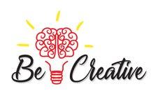творческо думайте бесплатная иллюстрация