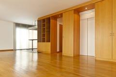 твёрдая древесина залы пола Стоковая Фотография RF